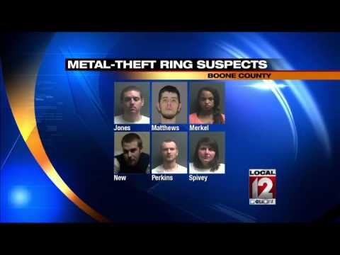 arrested for allegedly stealing 'miles' of copper wire - Worldnews