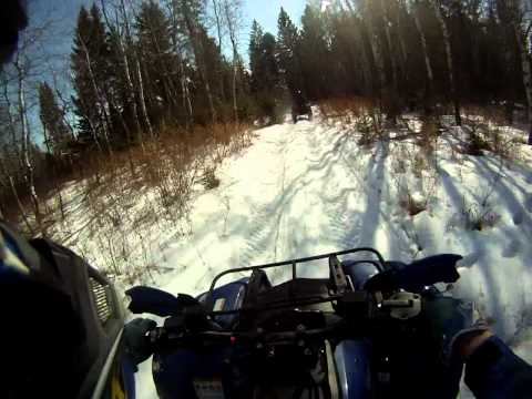 Yamaha Grizzly with Pit Bull Growlers