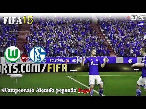 FIFA15 - T01EP05- Campeonato Alemão pegando fogo! [PT-BR]