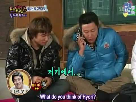 Daesung exploded with aegyo because he gets to talk to Ha Jung Woo