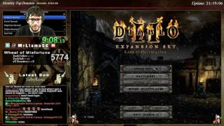 Diablo 2 - HELL HARDCORE NECRO 4 MAN RACE