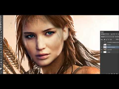 Mi Casting CineGame #29 - Jennifer Lawrence como Lara Croft de Tomb Raider