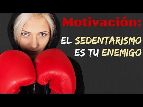 MOTIVACIÓN: El sedentarismo es tu enemigo.