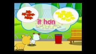 Lop1p1 Bai nhieu hon, it hon