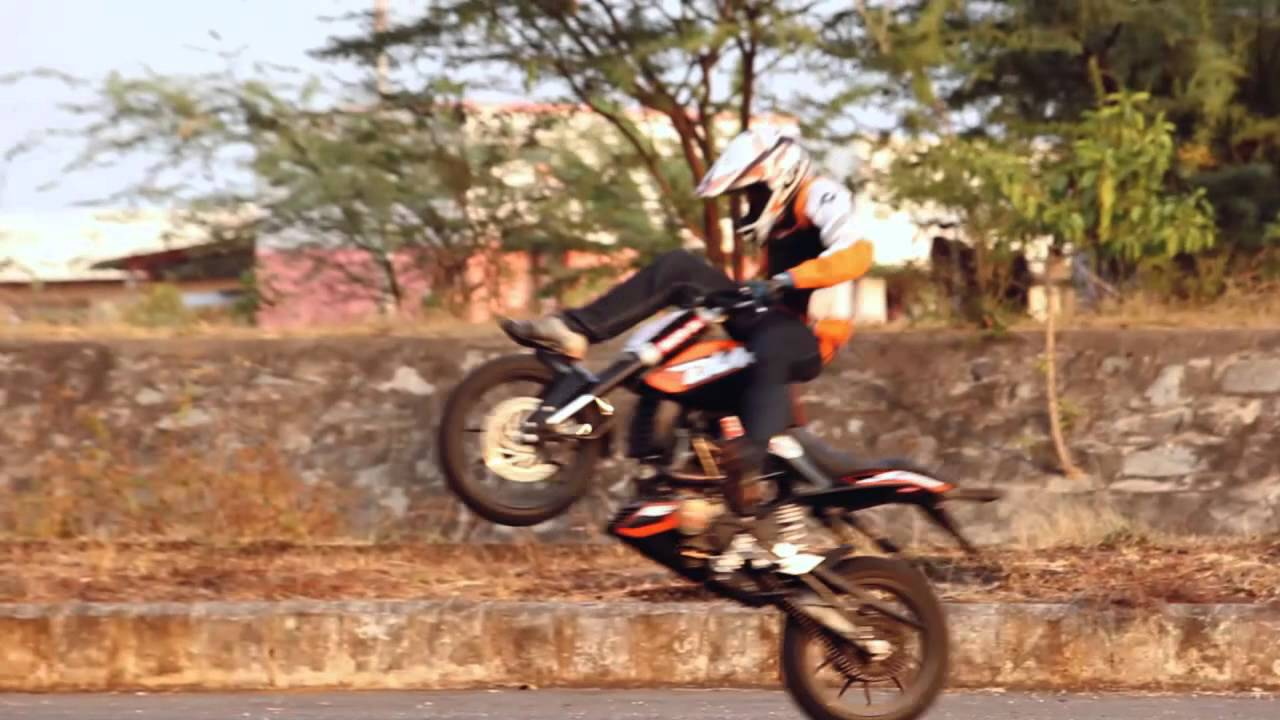 Bike Stunts Videos Youtube KTM Duke Stunt Video of