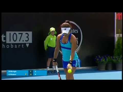 Heather Watson vs Madison Brengle: Full Match Replay (Final) - Hobart International 2015
