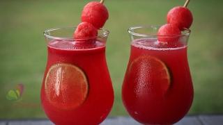 তরমুজের জুস || Watermelon Juice || Tasty Juice Recipe || Bangla Recipe || R# 170