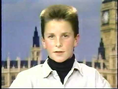 Christian Bale interview with Joan Lunden 1987