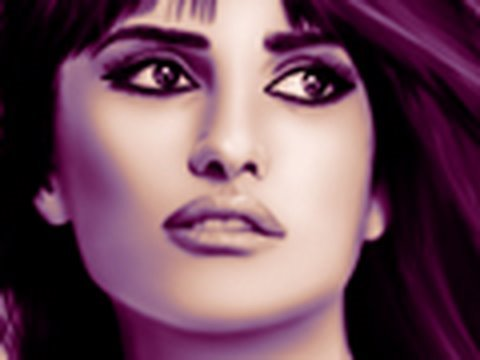 Penelope CRUZ – Digital Painting