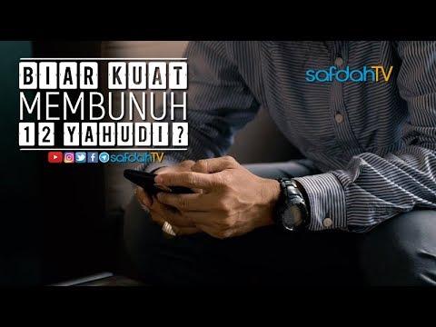 Bincang Santai: Biar Kuat Membunuh 12 Yahudi? - Ustadz Badru Salam, Lc & Talent SafdahTV