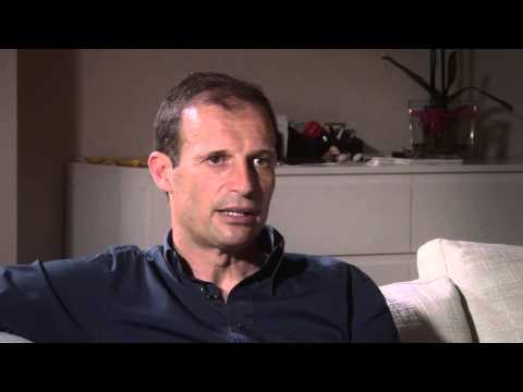 Intervista all'allenatore della Juventus Massimiliano Allegri per il volume