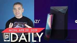 Moto RAZR foldable design leak, Samsung Gaming Service & more - Pocketnow Daily