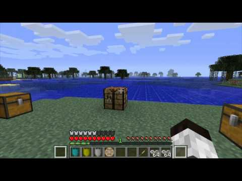 Minecraft mods review   Battlegear MOD Minecraft 1.2.5