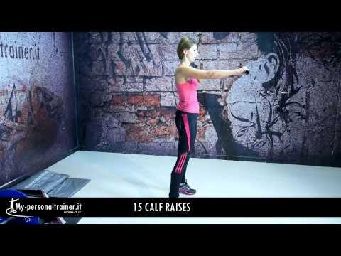 Esercizi Facili per Tonificare e Ridurre la Cellulite nelle Gambe e nei Glutei