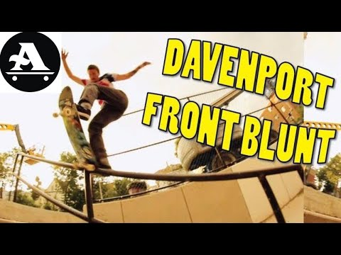 BILLY DAVENPORT front blunt slide DORCHESTER RAIL