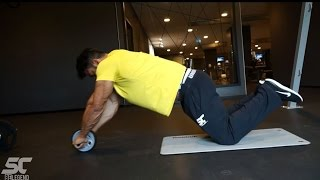 Sergi Constance ABS #ABSolution video series - abs roller