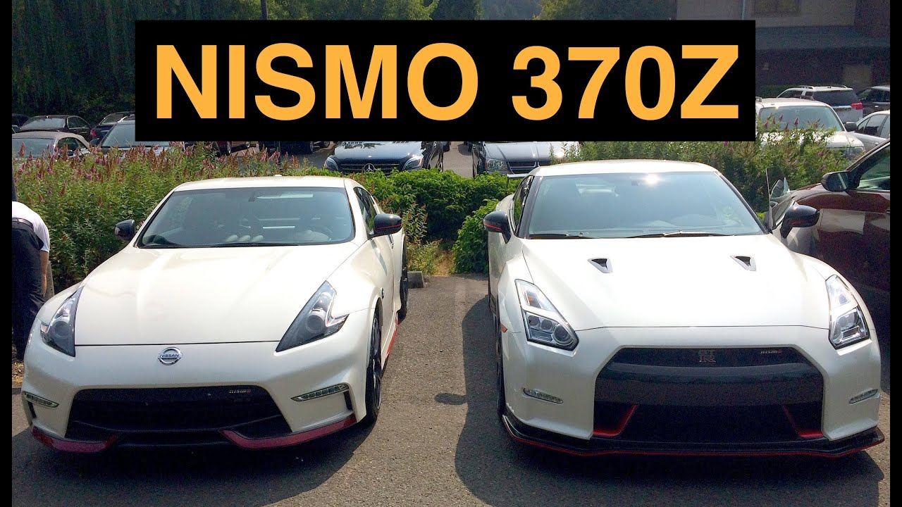 2016 Nissan 370Z NISMO - Review & Test Drive - YouTube