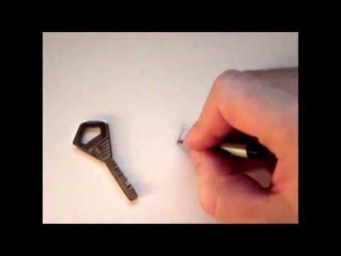 Видео как нарисовать ключик