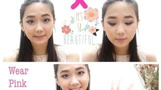 #wearpinkmonth! Sebuah tribute untuk Peringatan Kanker Payudara (makeup tutorial)