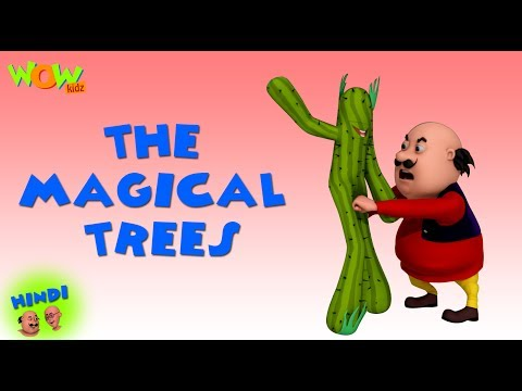 The Magical Trees - Motu Patlu in Hindi - 3D Animation Cartoon for Kids - As on Nickelodeon thumbnail