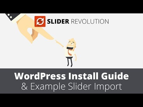Slider Revolution 4.0 WordPress Plugin Installation Guide
