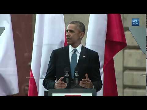 Obama Speaks At Poland Freedom Day- Full Speech
