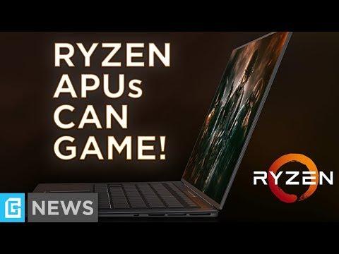 AMD's Raven Ridge APUs Dominate Intel's Integrated GPU!