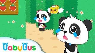 Baby Panda Got Lost in Castle | Strange Fruit Maze | Math Kingdom Adventure 3 | BabyBus Cartoon