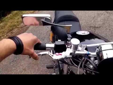 Yamaha fzx 750 modifiée