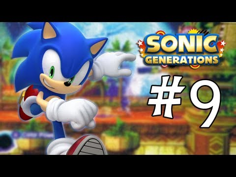Sonic Generations 3DS Walkthrough: Tropical Resort Act 1. 2. and Special Stage 7