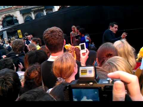 Harry Potter World premiere 2011 - John Terry of Chelsea Football Club (Maybe a fan)