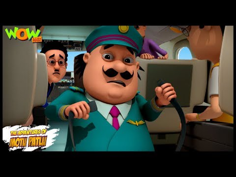 Motu Patlu Air Bus - Motu Patlu in Hindi - 3D Animation Cartoon - As on Nickelodeon thumbnail