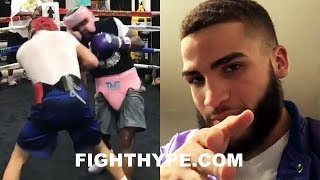 (DAAAMN!) MAYWEATHER FIGHTER GOES OFF ON HIM AFTER POSTING SPARRING CLIP; CLAIMS NOT DOING HIS JOB