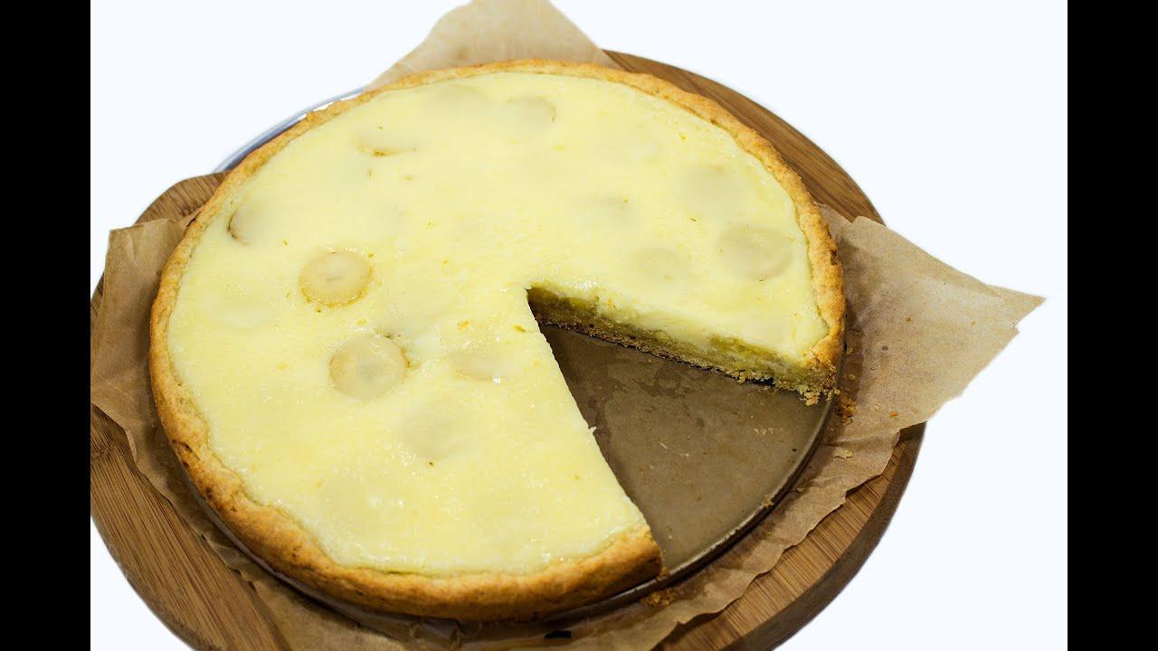 банановый пирог рецепт с фото простой