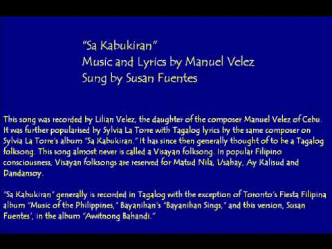 Susan Fuentes: Sa Kabukiran video