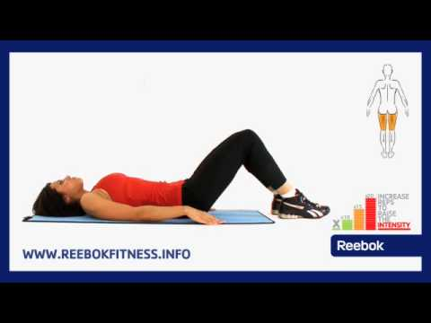 Reebok Fitness Ćwiczenia Online: Mata Do ćwiczeń - Unoszenie Bioder W Pozycji Leżącej
