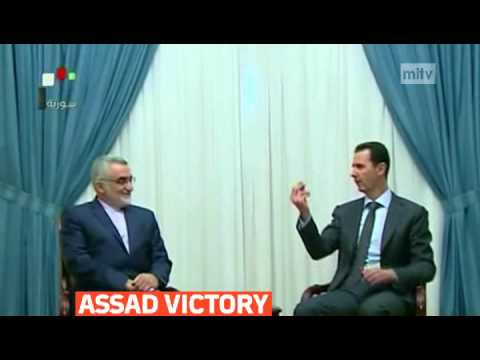 mitv - Syria's Bashar al-Assad make first television appearance after presidential election victory
