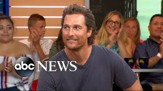 Matthew McConaughey reveals biblical inspiration for son Levi's name