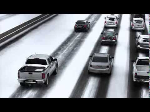 Winter Storm Leon Brings Atlanta to Standstill, Thousands Left Stranded--WORLDNEWS.COM