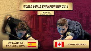 Francisco Sanchez Ruiz - John Morra | World 9-Ball Championship 2018