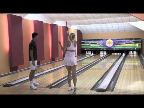 Djokovic vs. Sharapova Bowling Battle
