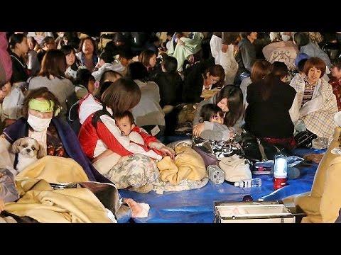 Japonya 6.4 büyüklüğündeki depremle sarsıldı