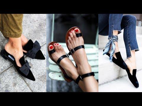 ЛЕТНЯЯ ОБУВЬ ЖЕНСКАЯ 2017 Фото Хиты Лета – босоножки, мюли... Fashion Ladies Sandals Lookbook 2017