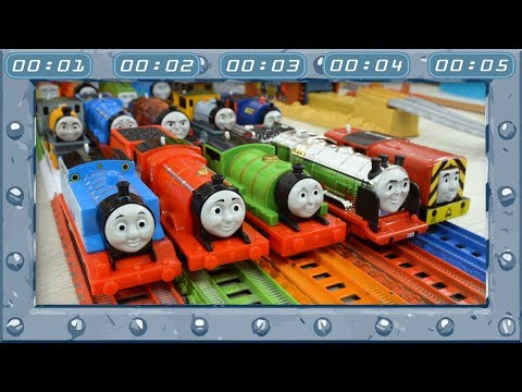 Faster than Time | Relay Race at Incredible Track | TrackMaster | Thomas and Friends #43