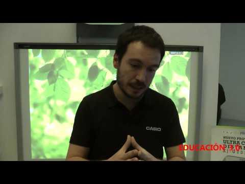 El ecoproyector de Casio de ultra corto alcance (Casio XJ-UT310WN)