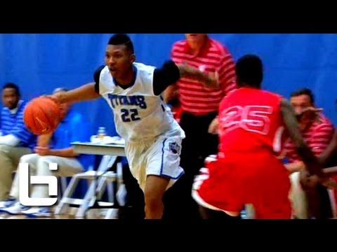 6'3″ King McClure Explosive Scorer Has Eric Gordon Resemblance! Official Ballislife Summer Mix!