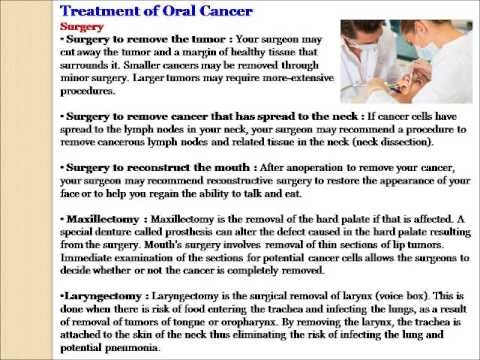 oral cancer treatment in india