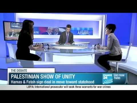 France 24 Debate about Palestinian Unity Agreement