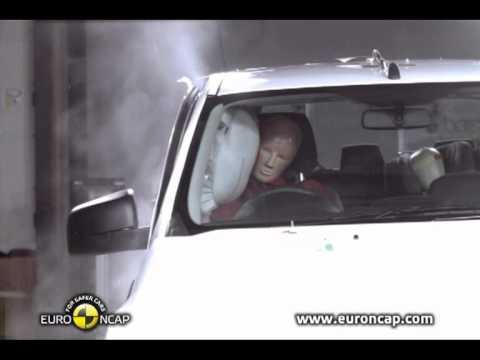 Euro NCAP   Ford Ranger   2011   Краш-тест