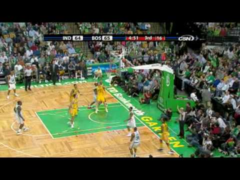 Pacers 99 - 104 Celtics I Stephon Marbury's first game with Celtics (02.27.09)